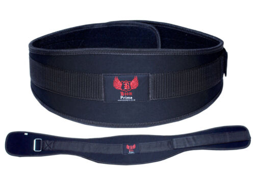 Weight Lifting Belt Neoprene Gym Fitness Workout Double Back Support Brace XL