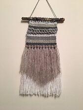 Handmade Weaving Wall Dream Catcher Boho Decor Nursery Teepee Neutrals Tapestry