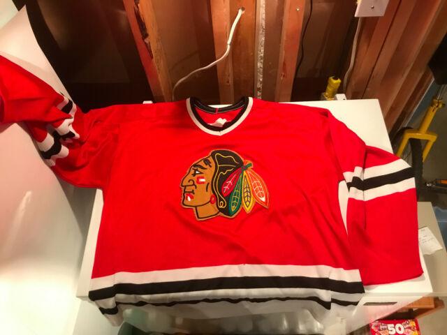 Chicago Blackhawks vintage hockey jersey CCM Adult XL