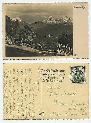09822 - Mi.nr. 591 - Ansichtskarte, Gelaufen Wiesbaden 1.11.1935 äSthetisches Aussehen