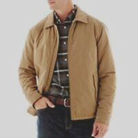 Brand St.john's Bay Mid-weight Golf Jacket / Coat Maverick Brown Size S $100