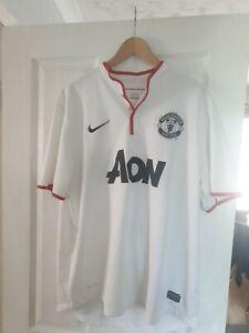 Man utd football shirt large Original Away 2012/13 White 26 Kagawa