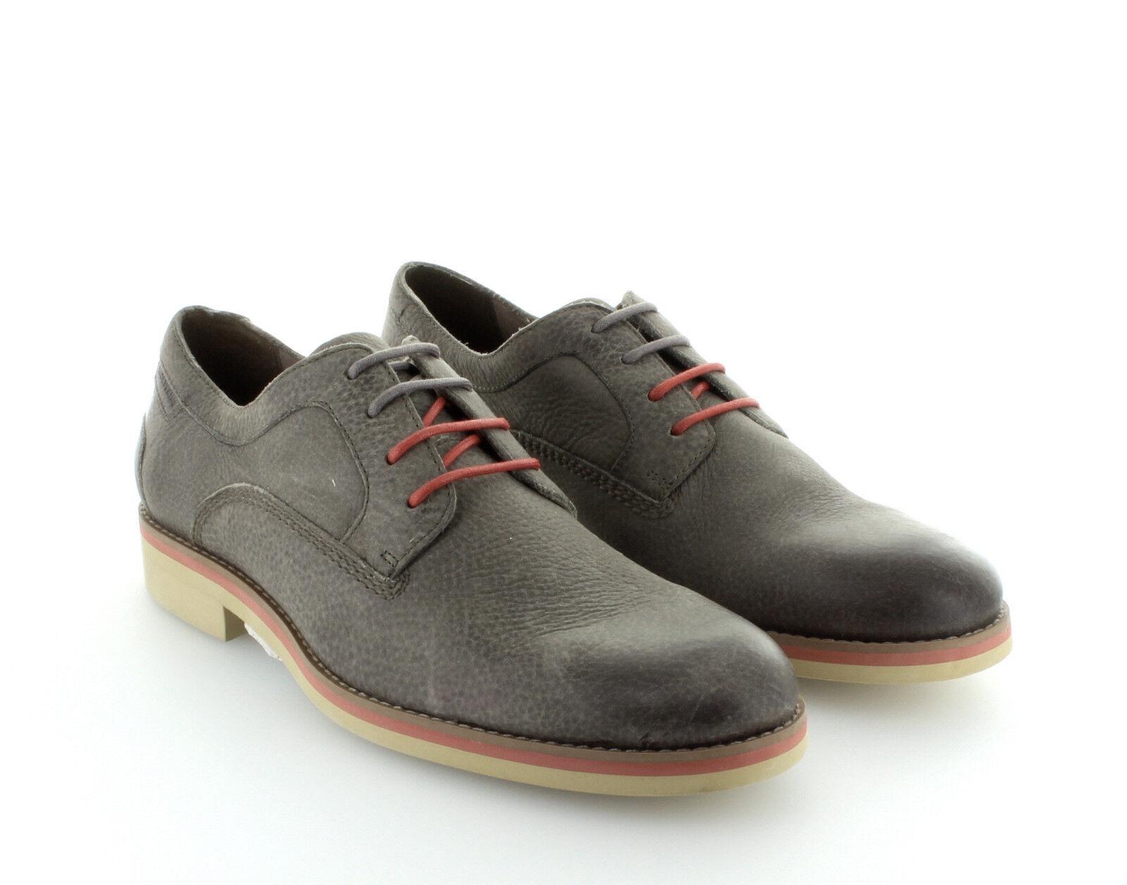 Herren Leder Schuhe Wolverine 1883 Theo Oxford grey Gr. 42