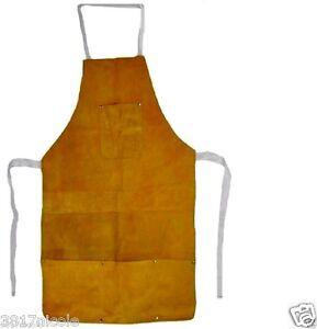 Welding Apron Protective Clothing Carpenter Blacksmith Gardening Bib Apron