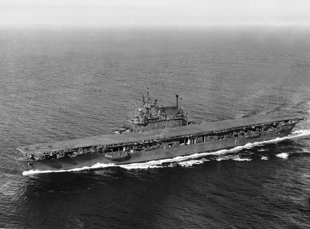 USS ENTERPRISE, CV 6, 1944. Flugzeugträger. Modellbauplan 1 92