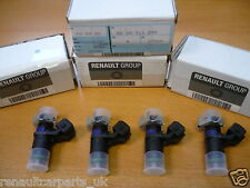 Genuine Renault Megane 225 Sport, R26 & R26R Set of 4 Fuel Injectors 8200511099