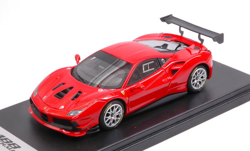 Ferrari 488 Challenge Rosso Scuderia 143 Model LOOKSMART
