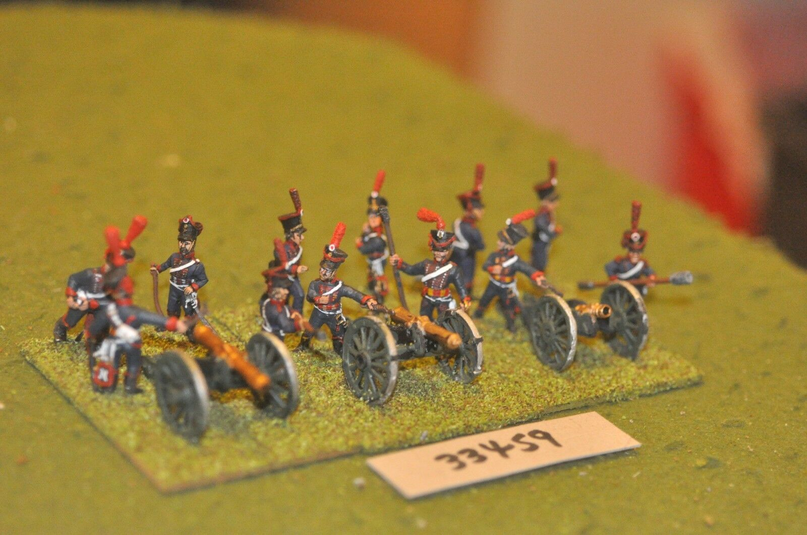 25mm 25mm 25mm napoleonic   french - horse 3 guns & crews - art (33459) e84fd3