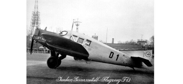Deutsche Luft Hansa Junkers F.13 – D1 1 87 Herpa