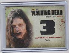 2014 CRYPTOZOIC WALKER ZOMBIE WARDROBE COSTUME W11 THE WALKING DEAD SEASON 3 P 2