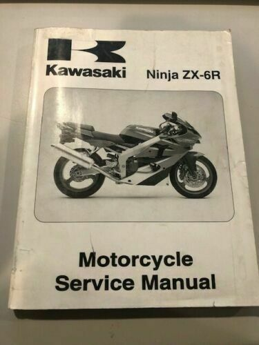 Kawasaki Service Manual 2000  2001  2002  2005  2006  2007