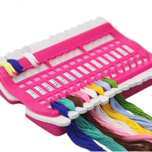 Cross Stitch Row Line Sewing Needles Holder Embroidery Floss Thread Organizer
