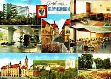 Bad Windsheim , Ansichtskarte, ungelaufen
