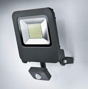Osram LED Fluter Strahler Endura Flood Sensor 50W Grau warmweiß Bewegungsmelder