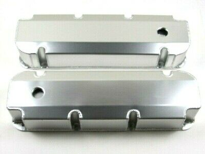 BBF Ford 429-460 Fabricated Aluminum Valve Covers W// Hole Clear Ano BPE-2340CA