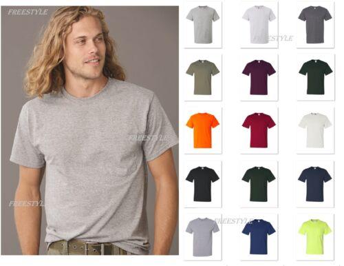 Jerzees Dri-Power Active Men/'s 50//50 T-Shirt with a Pocket Tee S-5XL  29MPR