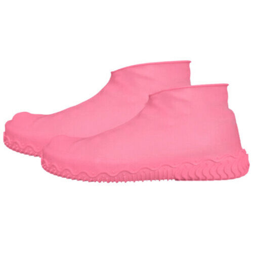 Silicone Overshoes Anti Skid Rain Waterproof Reusable Shoe Covers Boot Protector
