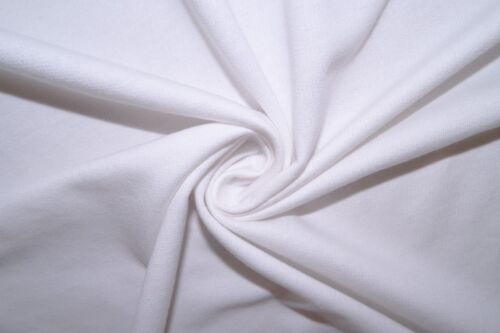 White French Terry #25 100/% Cotton Medium Weight Apparel Fabric BTY