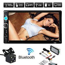 7'' HD Bluetooth Touch Screen Car Stereo Radio 2DIN FM/MP5/MP3/USB/AUX Camera LG