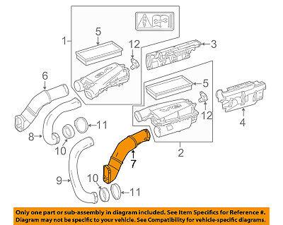 Mercedes MERCEDES-BENZ OEM Air Cleaner Intake-Inlet Duct Tube Hose 2780904782