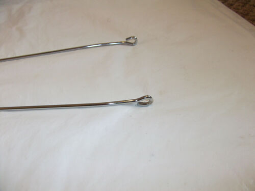 New silver chrome Mudguards Hoop Top STAY with top nut//bolt Various Lengths