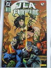 1x Comic DC Crossover Nr. 1 - JLA Witchblade