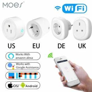 GB US Ue Wifi Inteligente Enchufe Salida Control Remoto Energía...