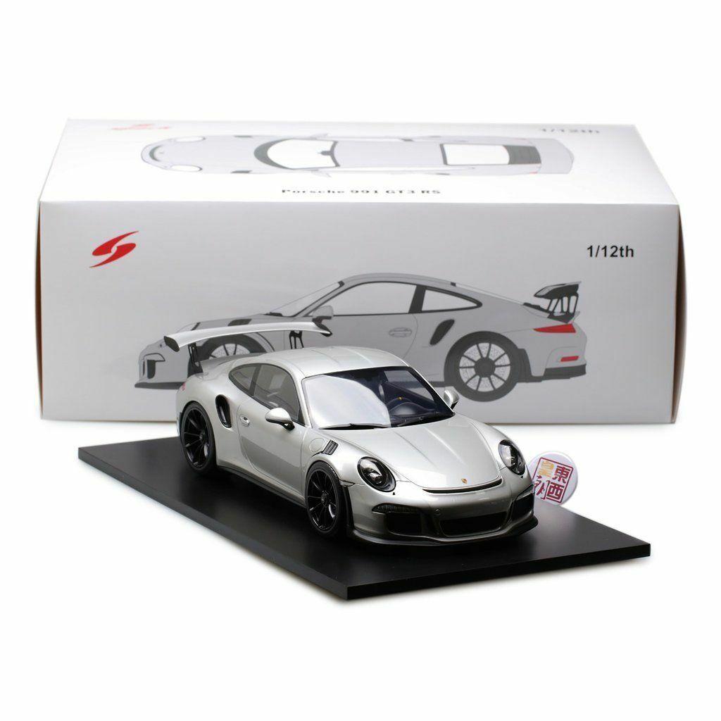 comprar barato 1 12 Spark Spark Spark  12s008 Porsche 911 991 Gt3 Rs Coupé Plata  Envío rápido y el mejor servicio
