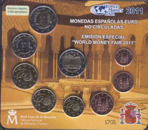 Espagne Porte-Documents Officiel 2011 F. M. N.T.Berlin 3000 Exemplaires