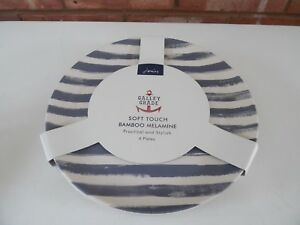 Joules-conjunto-de-cuatro-platos-de-melamina-Bambu-de-Tacto-Suave-Nuevo