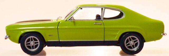 MINICHAMPS 150089075 Ford Capri I RS 2600 - 1970 Grün/Schwarz 1:18 NEU/OVP