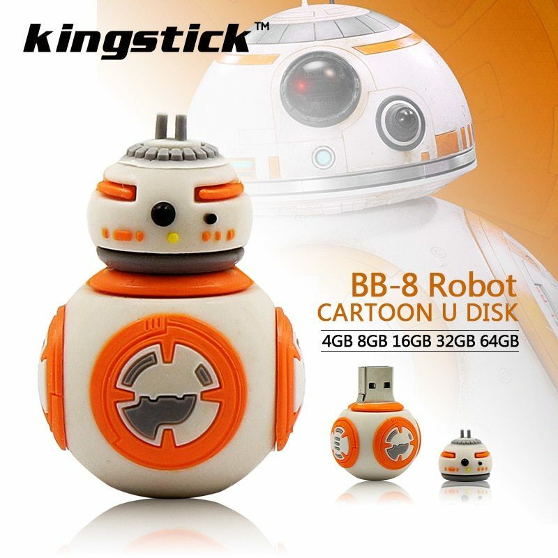 Sent from China Various Capacity USB Flash Drive Star Wars BB8