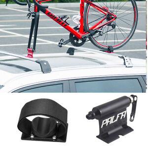 Black-Alloy-Bicycle-Car-Roof-Carrier-Fork-Mount-car-luggage-rack-Bike-carrier
