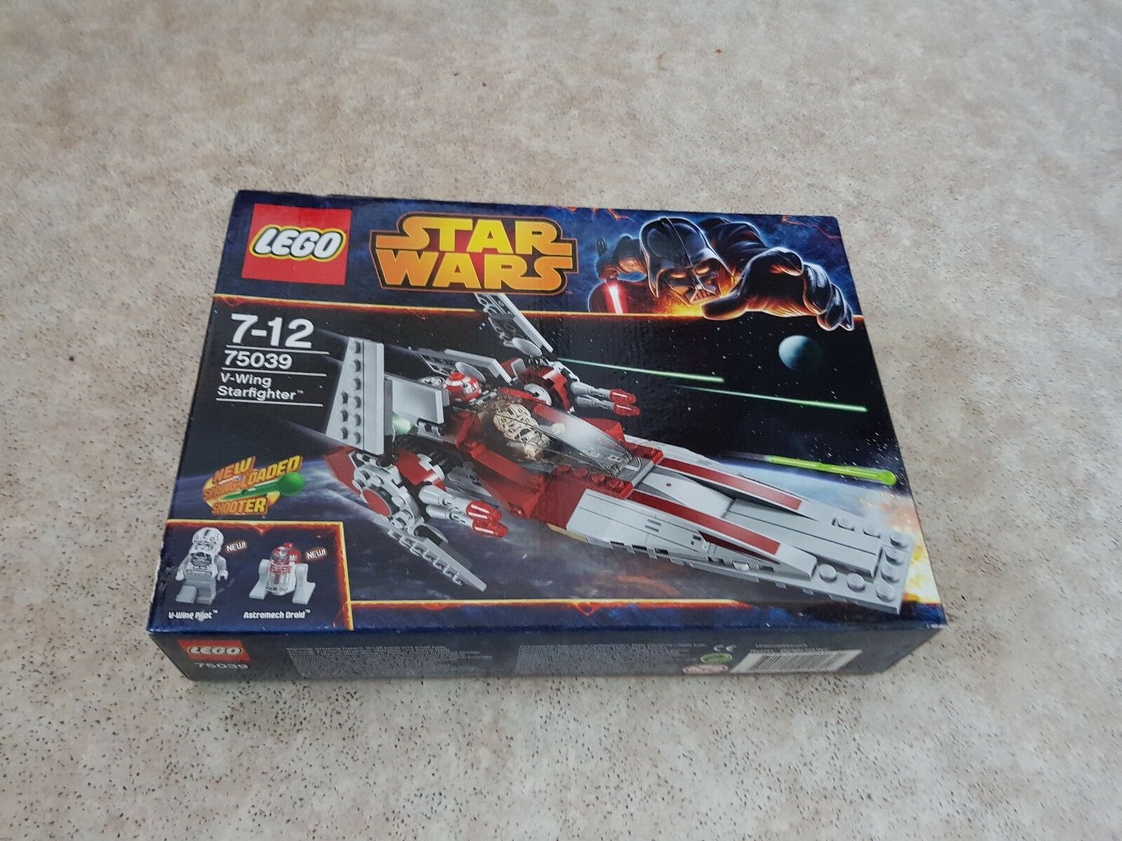 Lego 75039 Star Wars V-Wing Starfighter - Retired Set - Brand New and Sealed