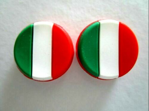 2 Italy Flags Italian Tennis Vibration Shock Absorber Dampeners Fognini Seppi IT