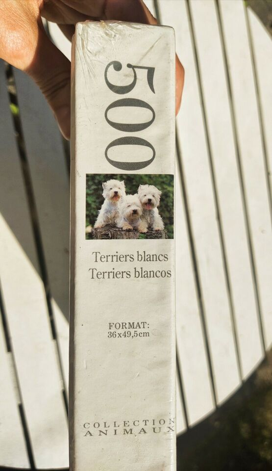 West Highland white terrier, 500 stk., puslespil