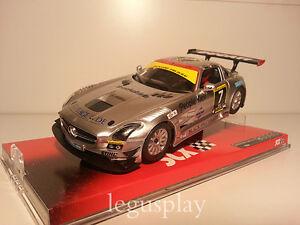 Slot-SCX-Scalextric-A10030X300-Mercedes-SLS-GT3-AMG-N-7-New