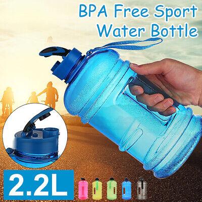 Cg/_ 800ml Sports Big Drink Large Water Bottle Cap Kettle BPA Free Sport Gym HN