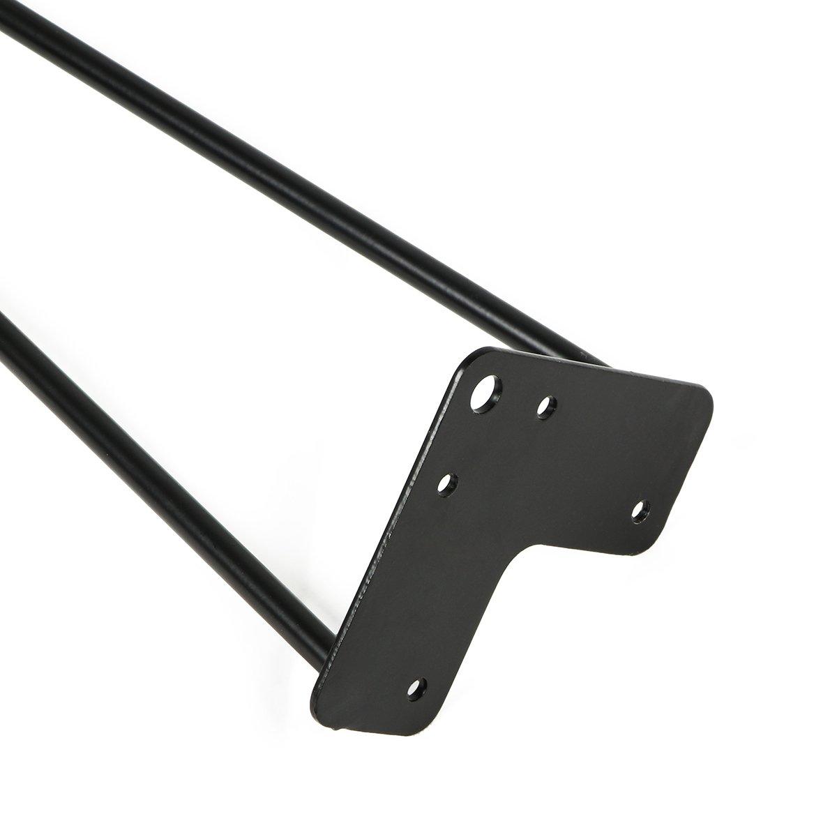 Metal Heavy Duty Sturdy Sharp Looking Modern Table Legs TE DEUM 16 Satin Black Hairpin Coffee Table Legs Set of 4
