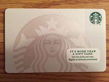 HTF Starbucks Pearl Siren Gift Card NO $ VALUE