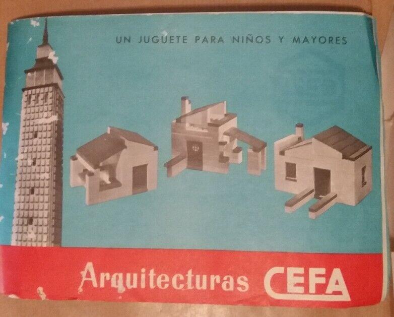 CEFA Construcciones Años 70 80  Piezas + Catálogo de Instrucciones originales.