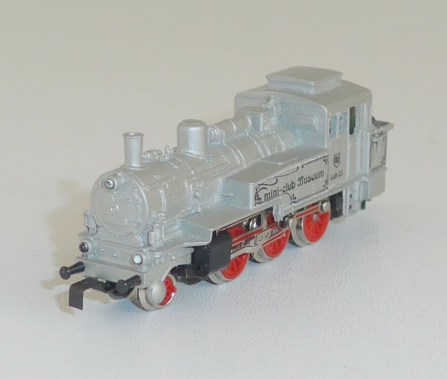 mini-club 8894 Museo locomotiva BR 74 in argento OVP Traccia Z