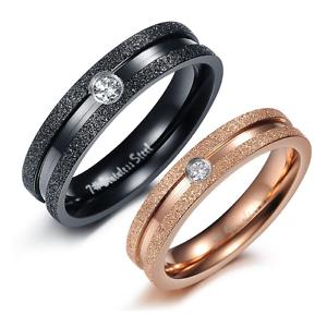 Anelli-Anello-Coppia-Fedi-Fede-Fedine-Fidanzamento-Nuziali-Cristallo-Acciaio-Oro