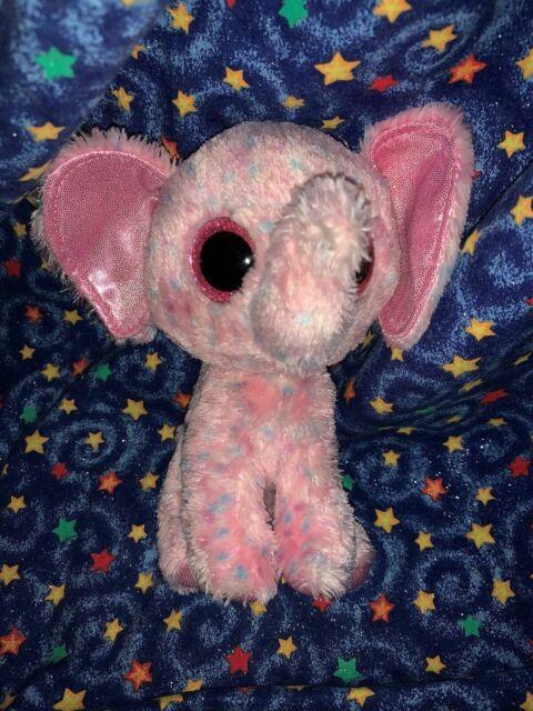 "Pinky Eye Cat 6/"" Ty Beanie Boos Puppy Glitter Big Eyes Plush Stuffed Animals Toy"