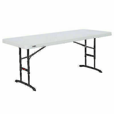 Lifetime 80565 Adjustable Height Folding Utility Table