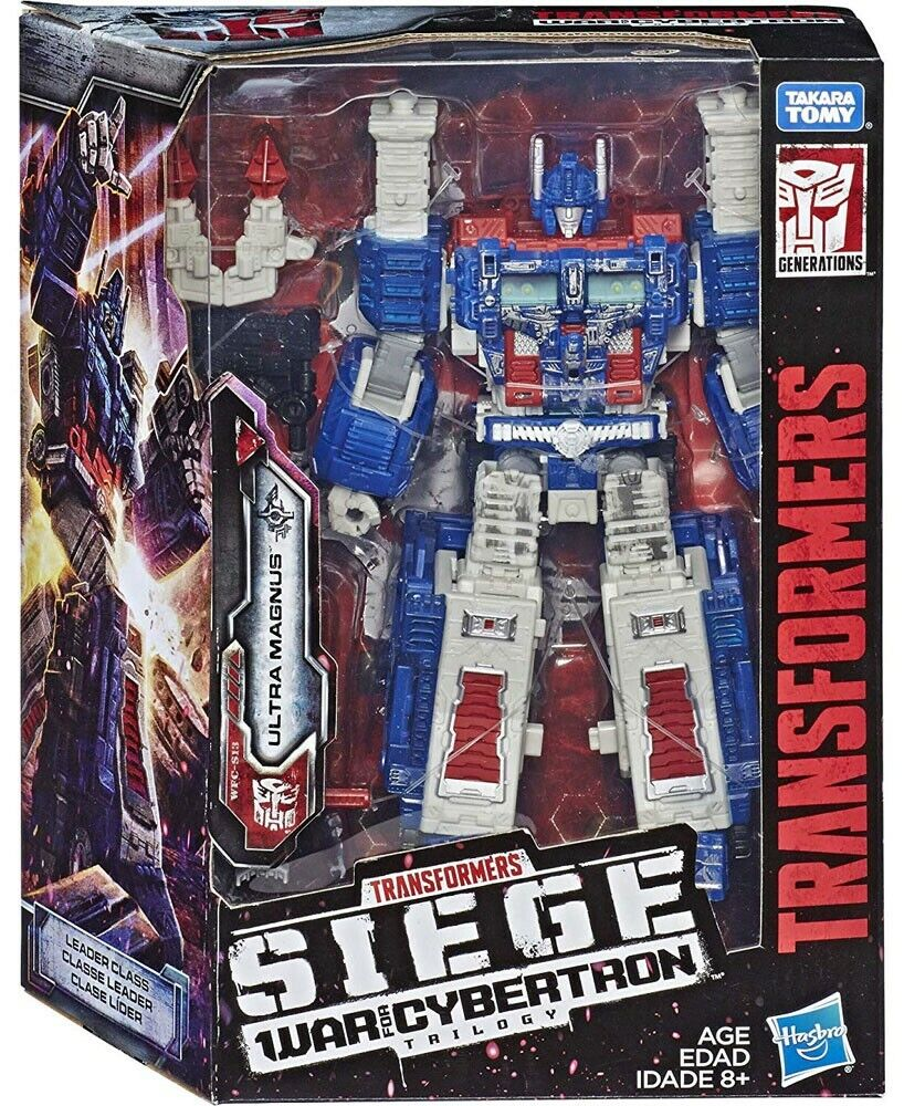 Transformers War for Cybertron  Siege Ultra Magnus Leader Action Figure WFC-S13