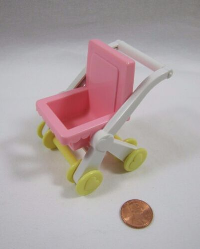 New PLAYSKOOL Dollhouse STROLLER BABY BUGGY Nursery Furniture for Loving Family
