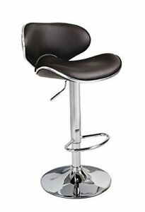 Outstanding Details About Brown Studio Casino Kitchen Bar Stool Faux Leather Breakfast High Chair Seat Cjindustries Chair Design For Home Cjindustriesco