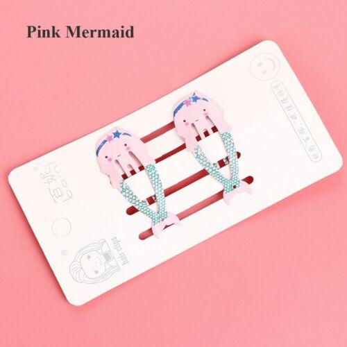 Accessories Children Headwear Mermaid BB Hair Clips Santa Claus Girls Hairpins