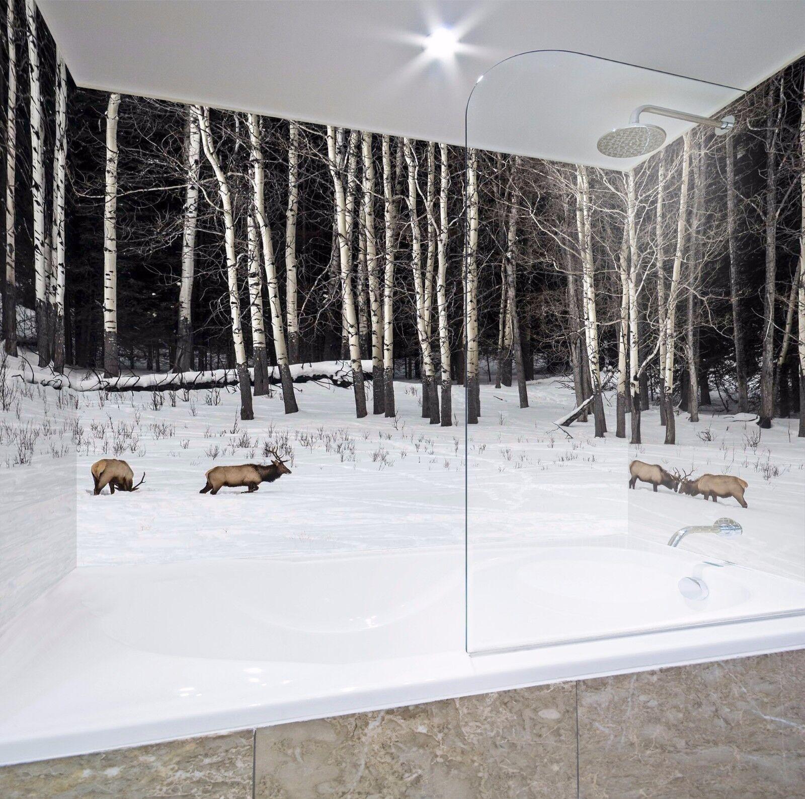 3D Tree trunk 7012  WallPaper Bathroom Print Decal Wall Deco AJ WALLPAPER AU